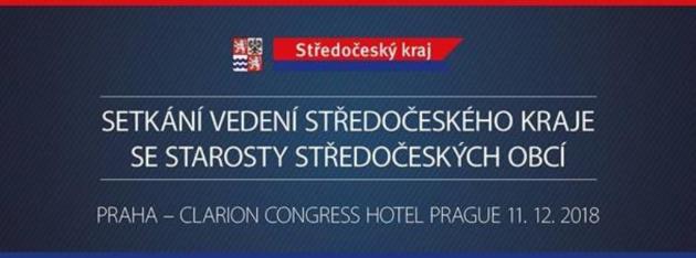 Setkání vedení Středočeského kraje se starosty středočeských obci. Ilustrační foto.
