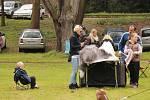 Do Konopiště se v neděli 7. května sjeli společně s chovateli bobtailů také ti, kteří chovají bretaňské ohaře.