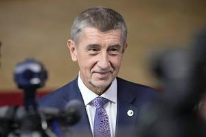 Český premiér Andrej Babiš.