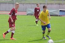 Sedmnáctka Benešova prohrála v Písku na penalty, když zápas skončil po 90 minutách 0:0.