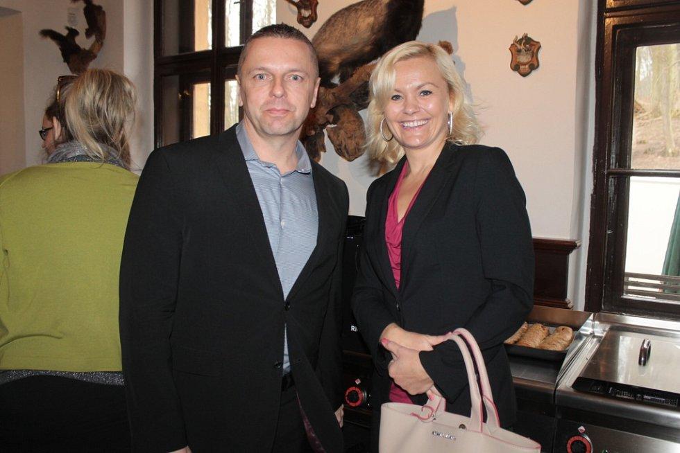 Tisková konference k výstavě Expo 2015 ve Staré myslivně na Konopišti.