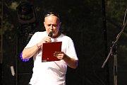 Slunovrat zahájil Miro Šmajda s Františkem Nedvědem.