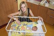 Malý Vojtěch, prvorozený syn Jany a Petra Lajerových ze Zbořeného Kostelce, se narodil 23. června v 9.51. Při narození vážil 3300 gramů a měřil 51 centimetrů.