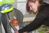 V Domě dětí a mládeže začíná výstava Prevence proti úrazům, jež potrvá do pátku 14. listopadu
