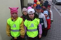 Děti z benešovské mateřské školy v Táborské ulici dopoledne vidí muže jen na ulici