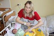 Manželé Ilona a Jiří Strakovi se radují z dcerky Elen, která se narodila 9. ledna v 9.53. Při narození měla 2 970 gramů a 48 centimetrů. V Chotýšanech na sestru čeká Nikola (17), Zdeněk (13) a Leona (7).