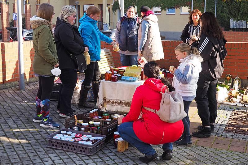 Bleší trh v Sázavě se konal v sobotu 9. října 2021.