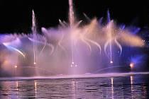 Ratměřickou fontánu předvedli dobrovolní hasiči v sobotu 22. srpna podesáté.