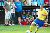 Mladý rychlík Benešova Dominik Němec v Zápech neskóroval.
