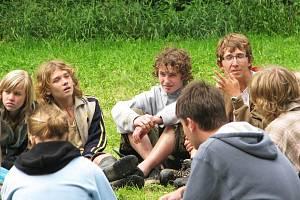 Skautský tábor Podolí u Vojkova