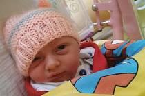 NATÁLIE REISSIGOVÁ, BENEŠOV. Narodila se 9. listopadu 2020. Po porodu vážila 3,09 kg. Rodiče jsou Michaela Reissigová a Jan Steiner. (porodnice Benešov)