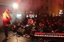 Festival svobody na benešovském Masarykově náměstí 18. listopadu 2019.