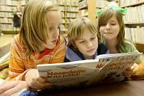 Benešovská knihovna má i dětské oddělení.