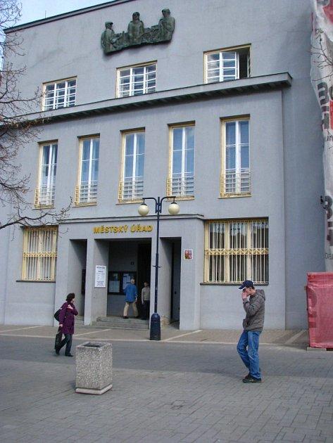 Bývalá Komerční banka v Benešově.
