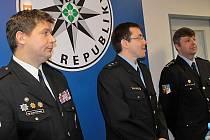 Pavel Havránek (vpravo), vedoucí benešovského územního odboru PČR, doufá, že  společné hlídky posunou spolupráci na vyšší úroveň.