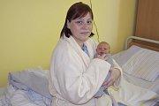 Teodora Langerová se narodila 22. dubna v1:15 sváhou 2660 g a mírou 47 cm. Doma ve Vlašimi, kam si ji její maminka Ingrid Langerová odveze, na ni čeká bratříček Zdenda (9).