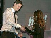 Vyhlašování výsledků soutěže Nejúspěšnější sportovec Benešovska 2012.