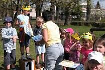 Sportovní hry v týnecké mateřské škole