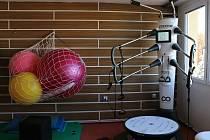 Nový přístroj slouží pacientům i z řad sportovců.