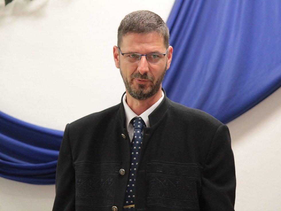 Nový bystřický starosta Michal Hodík (ODS)