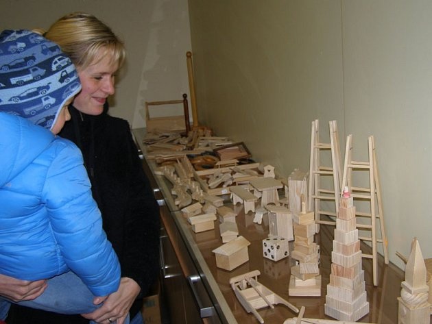 Vánoční výstava je v MKC k vidění po celé adventní období.
