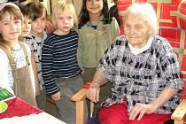Růžena Doktorová z Domu seniorů Pyšely oslavila 102 let