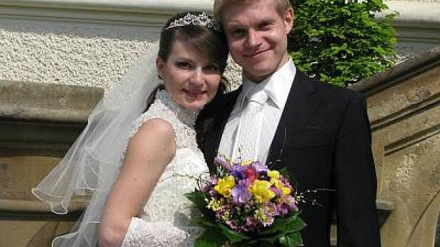 Aleksey Leksin a Evgeniya Ryzhkova, Dubna u Moskvy, Rusko
