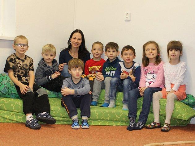 Přípravná třída vZákladní škole Dukelská vBenešově sučitelkou Lucií Duškovou ve školním roce 2019/2020.