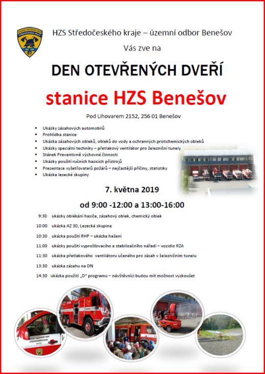 Den záchranářů Benešov