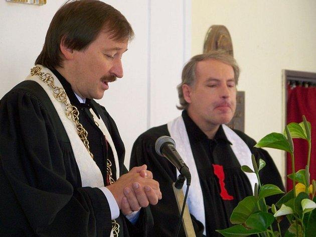 Promluvu s díkůvzdáním za úrodu a nesnadnou práci zemědělců přednesl v neděli patriarcha Tomáš Butta
