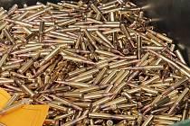 Náboje vyrobené ve vlašimské zbrojovce.