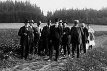 Do Hostišova jezdil do vily Herbenových i Tomáš Garrigue Masaryk.