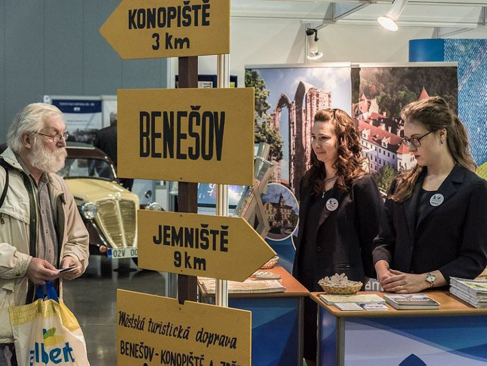 Na turistickém mezinárodním veletrhu v Brně bylo vidět i město Benešov.