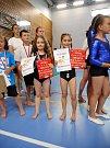 Gymnastky z Domu dětí a mládeže v Benešově
