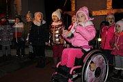 Obyvatelé Divišova se před Vánocemi setkali v místním kostele svatého Jakuba.