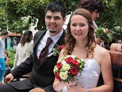 Svatba Kateřiny a Martina