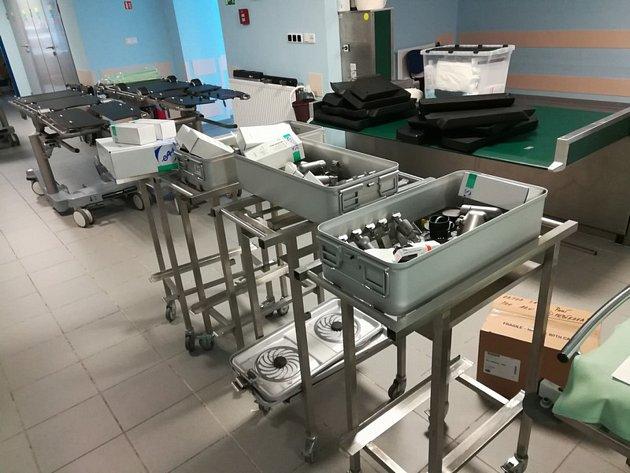Nové přístroje poslouží ortopedickému oddělení v benešovské nemocnici.
