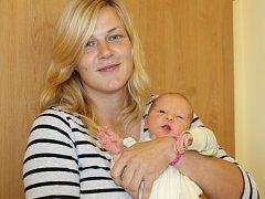 Monika Jeřábková a Petr Stejskal z Jarkovic jsou od 26. srpna rodiči malého Huberta, který se narodil v 1.17. Na 3,30 kg vážícího a 49  cm měřícího klučinu se těší sestra Karolína (11) a bratr Jiří (12).