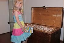 Barborka našla poklad, který ji při otevření truhly mírně zaskočil.