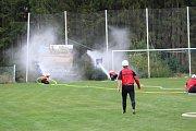 Benešovská hasičská liga v Miřeticích.