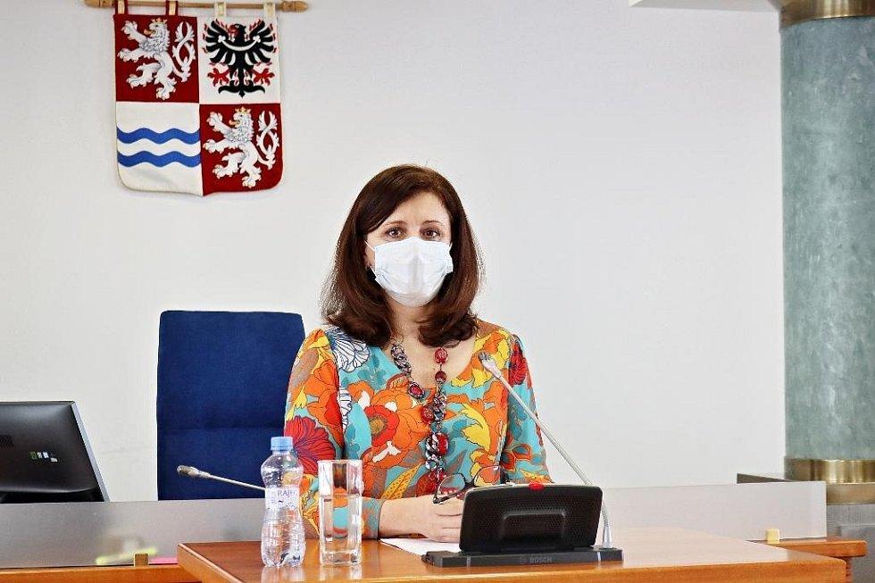 Hejtmanka Jaroslava Pokorná Jermanová (ANO)