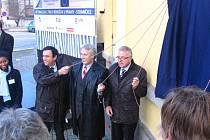 Optimalizace stanice a tratě do Strančic byla oficiálně ukončená 11. listopadu 2010.