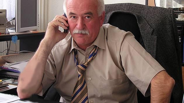 Ředitel ISŠT Benešov Jiří Kotouč.