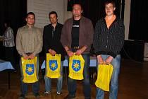 Josef Řehák, František Kalas, David Ešner a Kamila Kanda ze Šacungu Benešov.