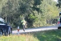 Páteční dopravně bezpečnostní akce na silnicích Benešovska.