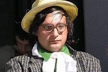Herec Miroslav Dvořák v jednom z kostýmů.