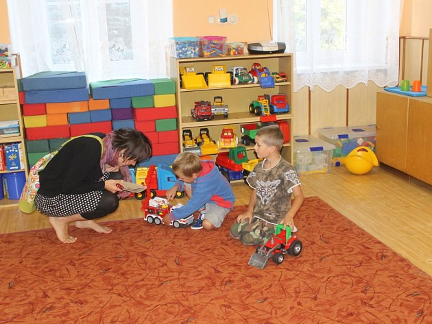 Děti v Mateřské škole v Maršovicích mohou strávený čas v mateřince prožívat i s rodiči.