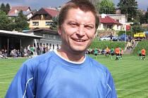 Pavel Pessr, brankář Struhařova, si s hráčů Kondrace dělal dobrý den a velice přispěl k výhře Struhařova 2:1.