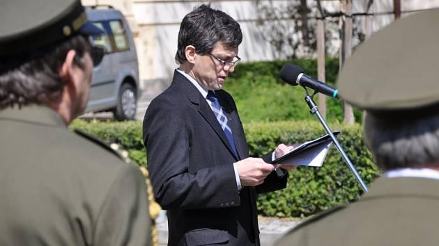 Pieta k výročí osvobození v Benešově se konala 6. května.