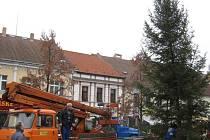 Obyvatelé a návštěvníci Benešova se mohou pokochat novou dominantou Masarykova náměstí